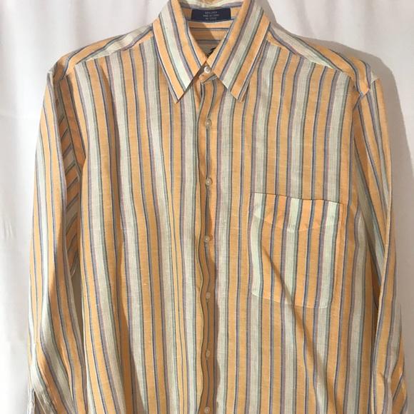 Alan Flusser Other - Men's 💯% Linen Alan Flusser Shirt